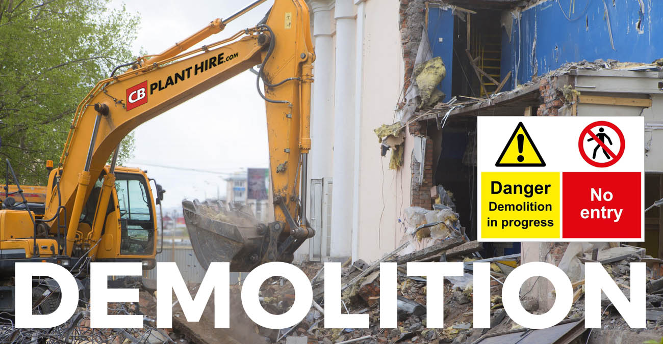 Demolition and groundworks services for Bristol and Bath