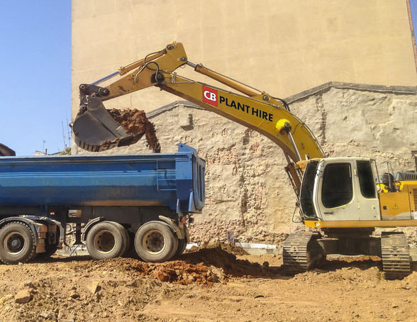 demolition and site clearance in Bristol