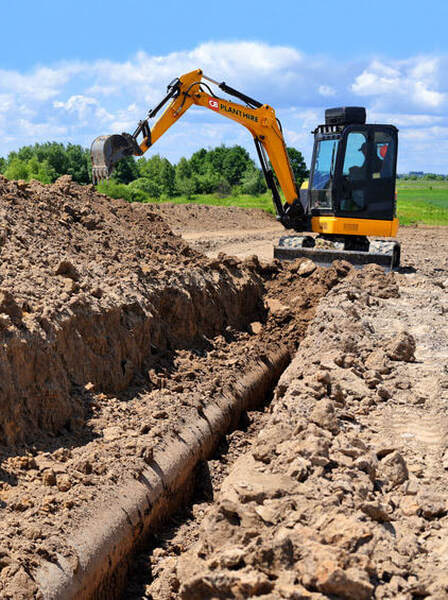 Drainage excavation and groundworks in Bristol
